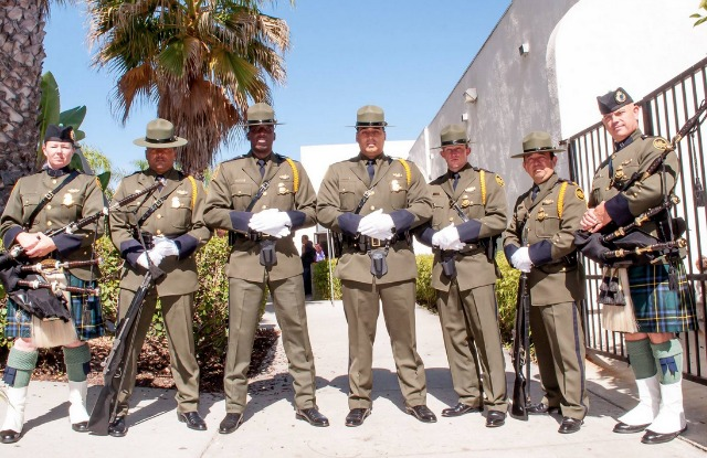 zzBorder Patrol Color Guard