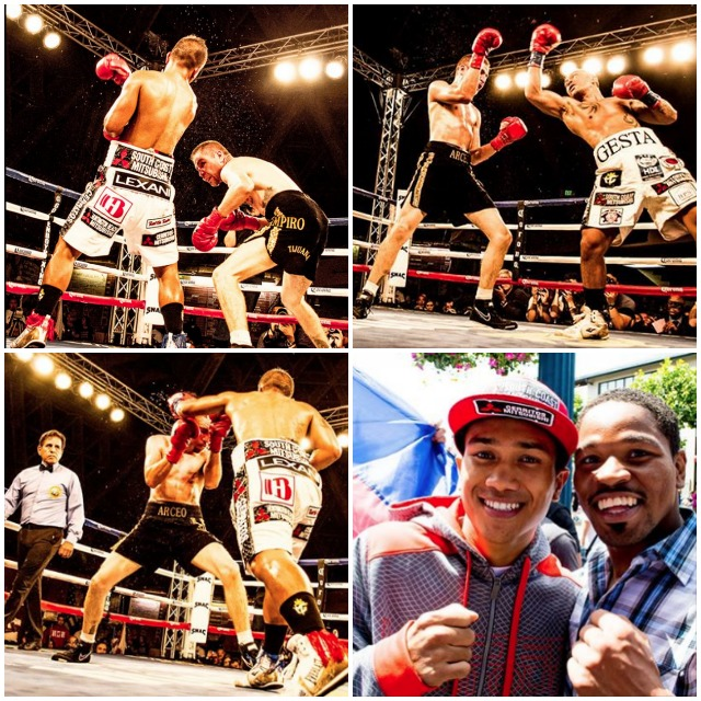 Here we see some of the amazing fight photos taken by Duenas Aris, Mercito Gesta's dear friend and photographer.
