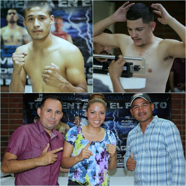 """Bout #7, the other co-main event, features Victor """"Sina"""" Fonseca going up against Juan """"Feroz"""" Valenzuela. (below)"""
