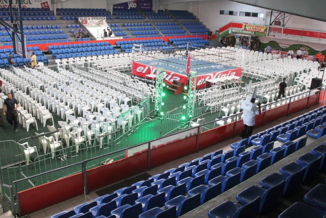 With it's layout, size and location, the Gimnasio Oscar Tigre Garcia in Ensenada is another of the ideal venues for the sport of boxing.