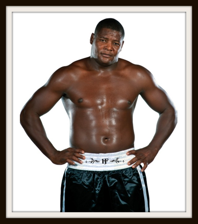 """At 6'4"""" tall and 236 pounds, Luis """"The Real King Kong"""" Ortiz can be a handful."""