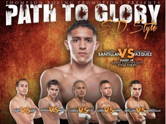 All but one of the bouts on August 22 will have a local fighter in it as