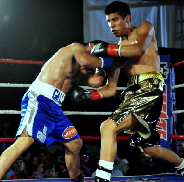 It was a tough scrap but Ruben Garcia showed much patience while he continued to wear down the veteran Javier Gallo.