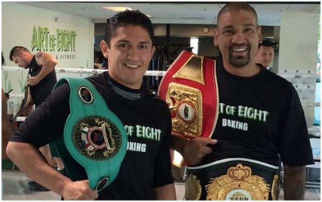 """The roadmap is right there, all you have to do is keep working hard. If it was only that easy. San Diego's Giovani Santillan has had the support behind him and he just has to keep working hard. Danny """"Dynamite"""" Perez."""