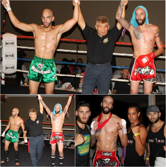 Houssain Chouari (3-0, 155 lbs., 6 foot tall), who trains with Saroyan Corona at the Muay Thai School U.S.A. in North Hollywood, CA going up against 29 year-old Javier Hernandez
