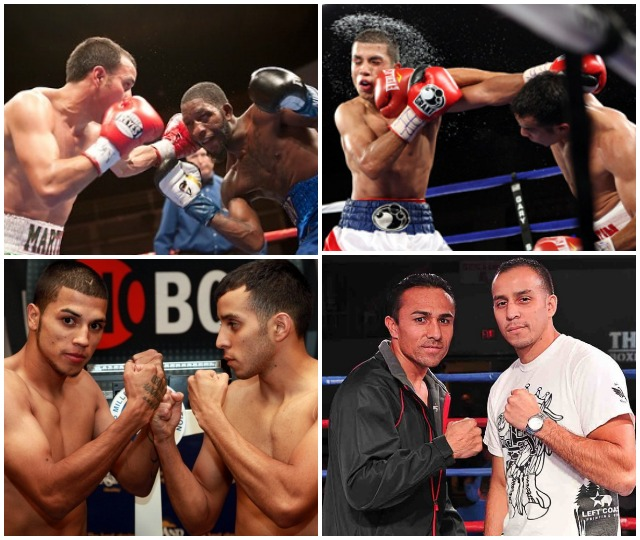 Mix and match: Chris Martin's most memorable fights: the recent unanimous decision loss in Ontario, CA to Enrique Quevedo, the decision loss in April, 2012 in Miami to Luis Orlando Del Valle, the draw in January, 2012 to Teon Kennedy, the loss to and later defeat of Jose Angel Beranza in 2013 and finally the night Martin took Chris Avalos to school in 2010.