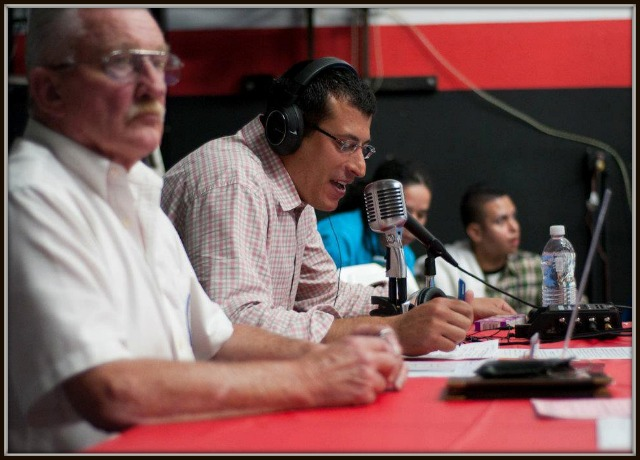 Old Dog announcer officials