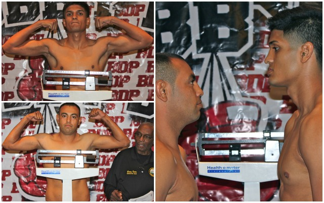 "In Bout #1, it will be Alberto Fundora (r) of Coachella, CA (2-0) facing Fernando ""Pantera"" Najera."