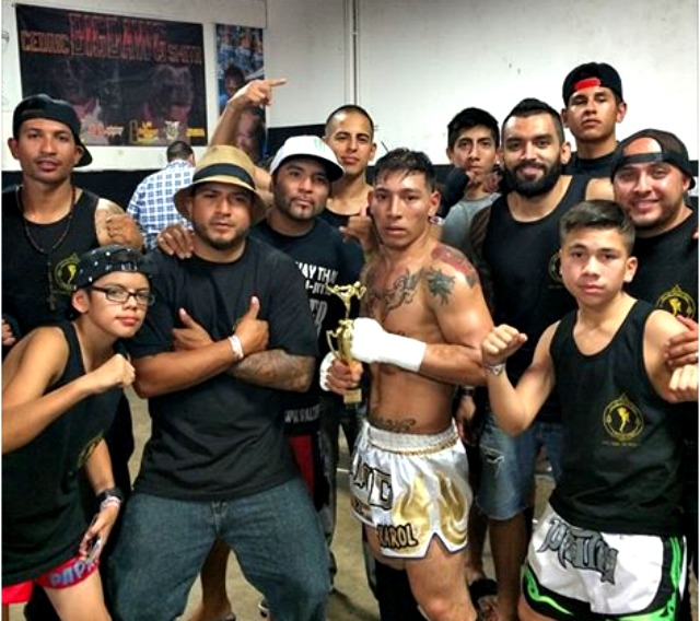 Front and center is the ever popular Said Sanchez of the Valor Fight Group from the neighborhood of Logan Heights, San Diego.