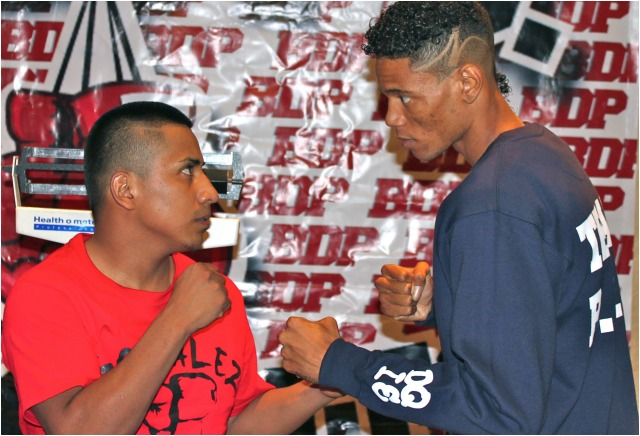 """It will be interesting to see how this fight turns out with Jose """"Panterita"""" Iniguez possibly out-weighing Smalls by as much as 15 pounds come fight night."""