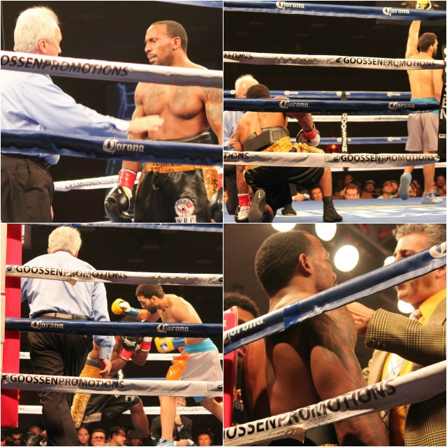 """In Bout 11, Edwin """"La Bomba"""" Rodriguez of Worcester, Massachusetts by way of the Dominican Republic make quick work of the much shorter Derrick """"Superman"""" Findley of Gary, Indiana."""