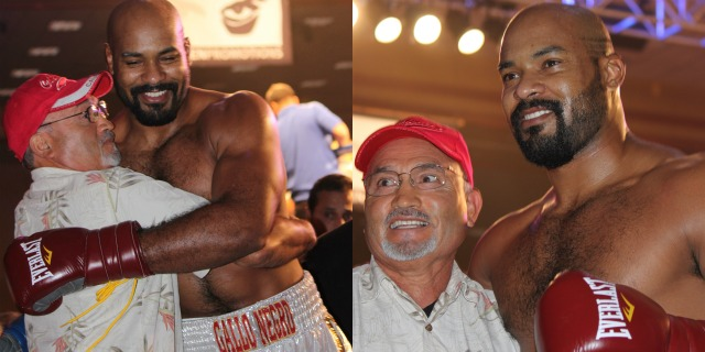 """In Bout 4 Gerald """"El Gallo Negro"""" Washington of Vallejo, CA scored a first round knockout victory over Mike Sheppard of Palestine, West Virginia."""