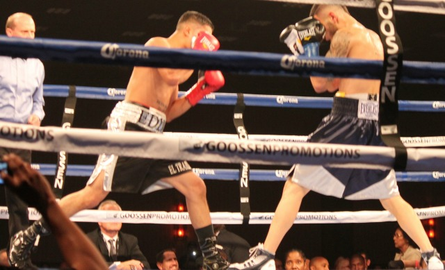 In Bout #1, it was Vatch Martirosyan of Glendale, Ca by way of Abovyan, Armenia coming away with the victory over Eddie Diaz of Los Angeles, CA.