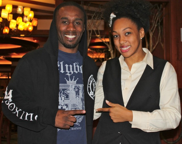From the maître d' in the restaurant to gentleman parking your car,  the service at Pechanga is second to none. Just ask Dashon Johnson who had the opportunity to meet this lovely young lady. Photo: J. Wyatt