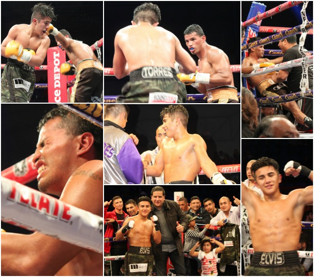 "Bout #13 featured Elvis Torres (9-0-0, ) going up against Carlos ""Chocolate"" Avila (2-0-0)."