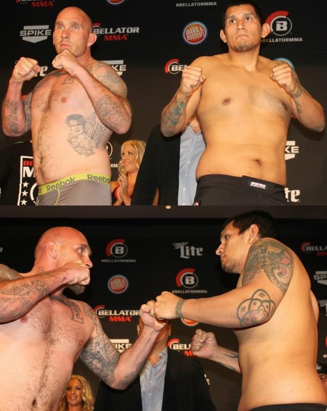 Fight #5 will feature the big guys: Catchweight (239 lbs.): Everett Cummings (8-0) vs Jason Glaza (2-1)