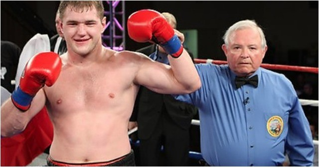 """It Bout #3 of the heavyweights you have Andrey Fedosov (l) of Hollywood, CA by way of Shuya, Russia going up against """"Nat"""" Heaven (r) of Ocala, Florida."""