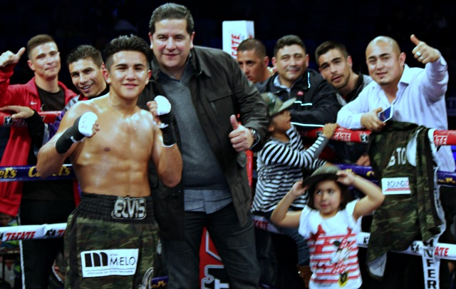 Elvis is in the building! After Saturday night's win over Carlos Avila, Elvis Torres now has 10 wins and seven of them came by way of knockout.