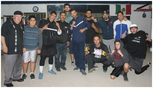 At the close of another training session, Ernesto Berrospe was only at the camp for a short time, he got to know several of the fun loving athletes