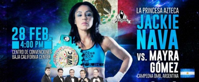 Tonight in Rosarito, B. C., Mexico, Jackie Nava and the youngster Kenia Enriquez, both from our sister city, Tijuana, will be defending their world titles.