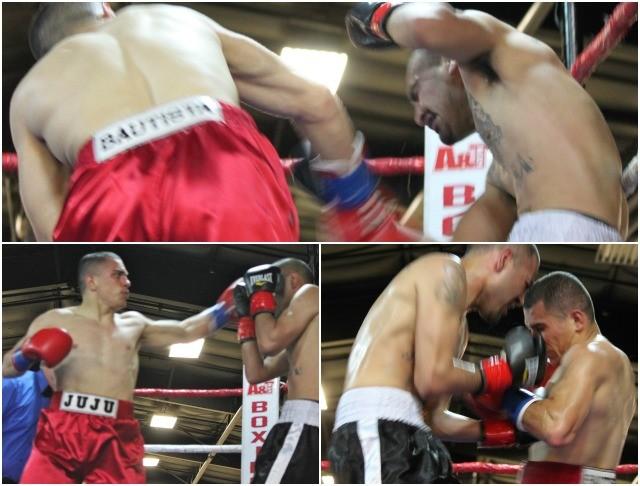In Friday's opening bout, it was Julian Bautista coming away with the victory over Jose Mejia