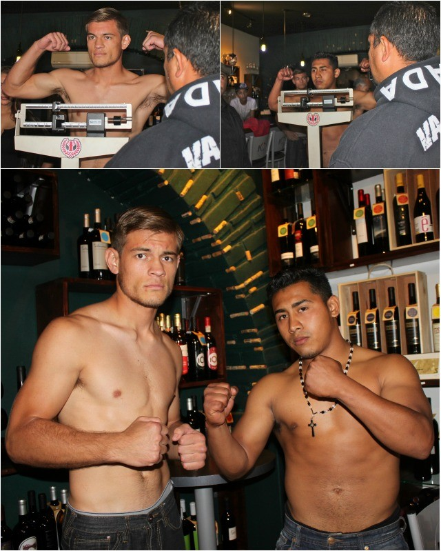 """In bout #5 you have Cristian """"The Russian"""" Olivas (2-0) of Mexicali, trained by San Diego's Gabriel Quinones, going up against Miguel Cipriano"""