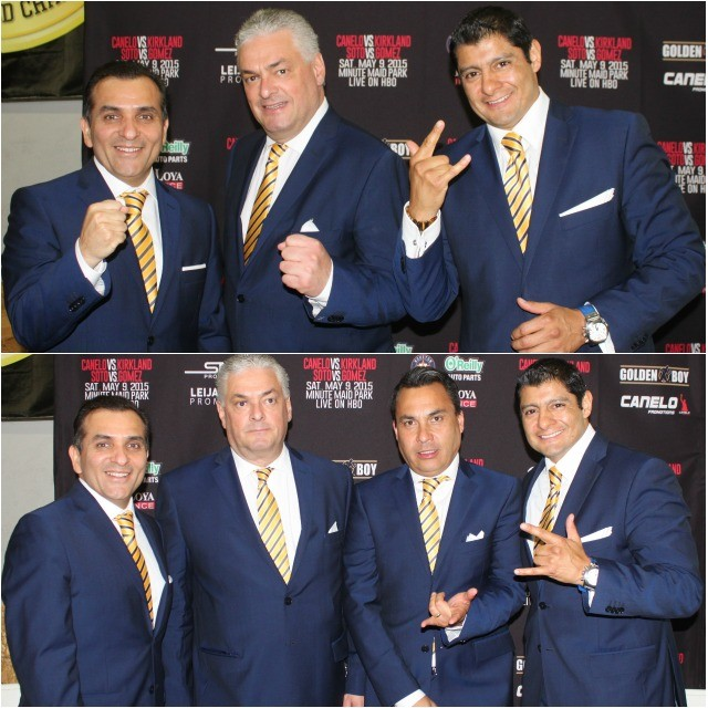 The broadcast team of Carlos Aguilar, Eduardo Lamazon, and Rodolfo Vargas will now be working with Golden Boy Promotions when they have a show in Mexico.