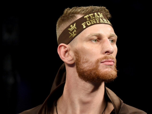 Head shot of light heavyweight  Andrzej Fonfara.