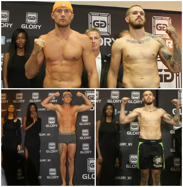 "Mike Lemaire (187 lbs.) is from the Art of Eight Training Center in Kearny Mesa, S. D., Calif. His opponent is Casey ""Go Green"" Greene"