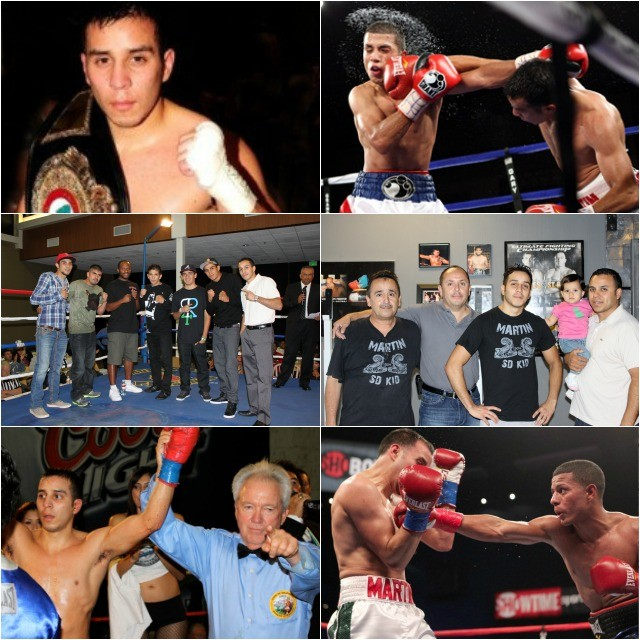 Chris Martin, who started out in the local USA Amateurs has now faced 36 professionals opponents