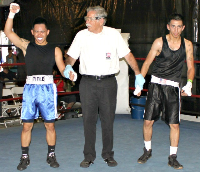 Nico Marchan (124.2 pounds), the righty, and Pedro Bernal