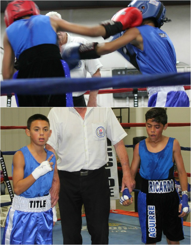 (top) Isaiah TorresRicardo Aguirre with