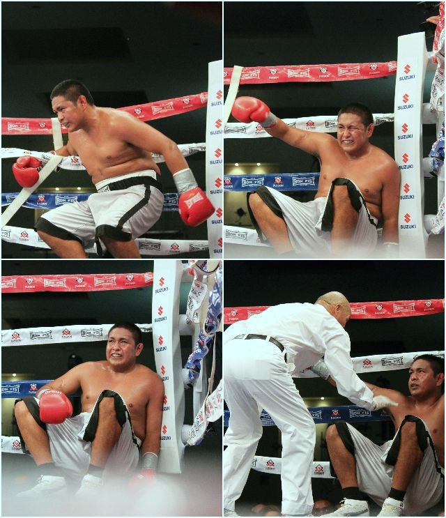 After exercising his rights to pummel Angel Estrada from pillar to post, George Escalante