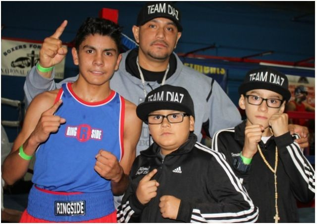 Once a year, the Diaz Family from North Las Vegas visits San Diego to compete in the annual Boxers for Christ Tournament.