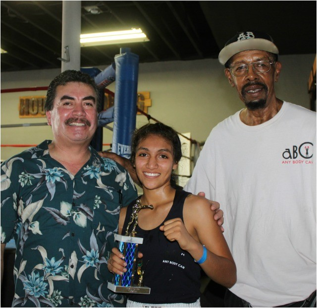What a great day it was for Lizzette Corrales of the ABC Mongoose Gym as she impressed her coach
