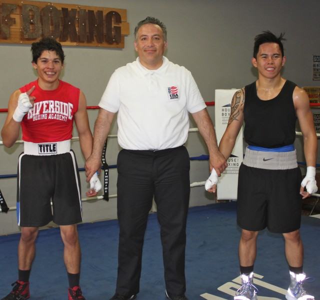 In Bout #15 it was Ivan Garcia of the Riverside Boxing Club going up against Nico Marchan of the House of Boxing.