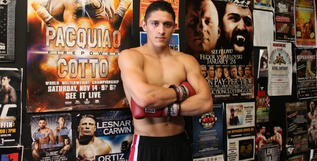 Still an amateur, this photo of Giovani Santillan was taken back in 2011.