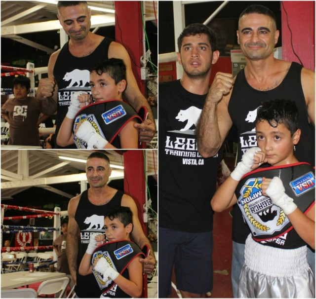 Win, lose or draw, it didn't matter to Ari Soltani, he was so very proud of his son as was his coach Ricky Gutierrez.