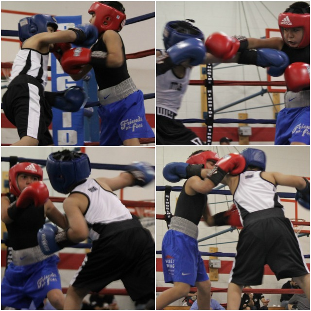 back and forth went the momentum in this hard fought contest, Danny Hernandez versus Isaiah Bernal