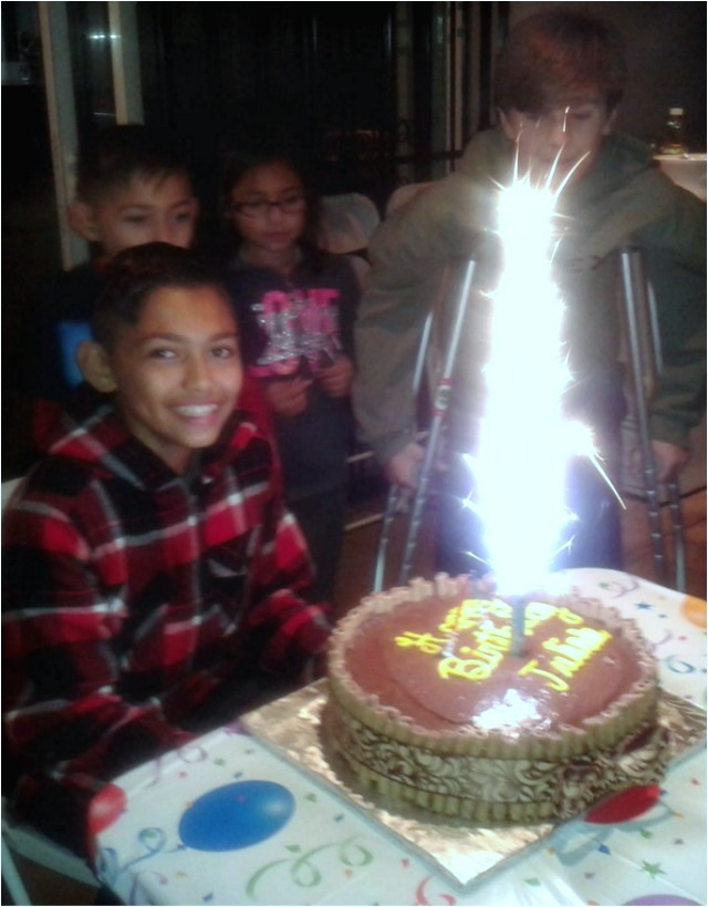 "Just two days later, Julian ""THe Mexican"" Rojas was celebrating his 13th birthday."