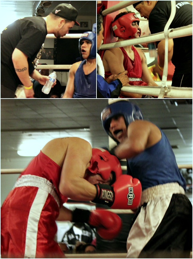 Bout #9 was your typical boxer, Anthony Franco going up against your typical brawler Josh Rivera.