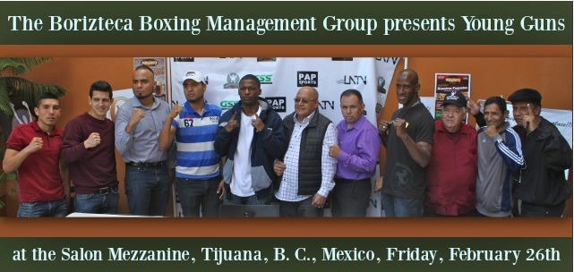 For over a week, Floyd Mayweather Jr.'s paternal half-brother, Justin Mayweather Jones has been the talk of the town in Tijuana as the Borizteca Boxing Management Group prepares for another big show, Young Guns on Friday, February 26, 2016.