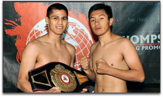 "Thursday's weigh-in results: Danny Roman (122 lbs.) makes the second defense of his WBA NABA Super Bantamweight Title on Friday night against 23 year-old lefty Ramiro ""Zurdo"" Robles (12-4-1, 7 KOs)"