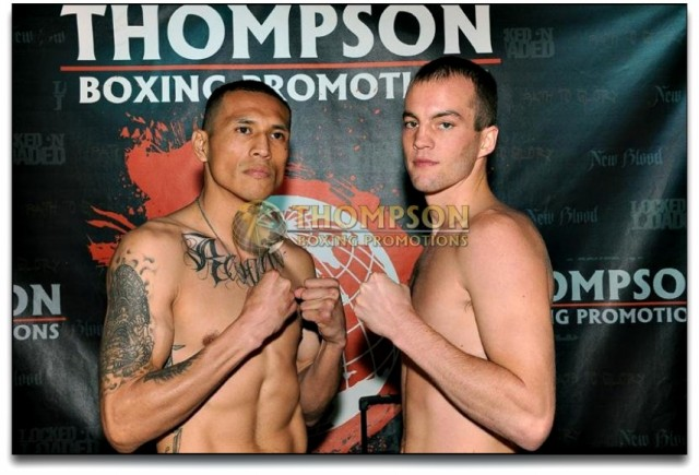 "Miguel Trejo of Los Angeles (3-0, 2 KOs 153.1 lbs.) will be facing 24 year-old, 5'11"" Thomas Earl ""Hitman"" Howard of Miami, Florida (8-6, 4 KOs, 155.8 lbs.)"