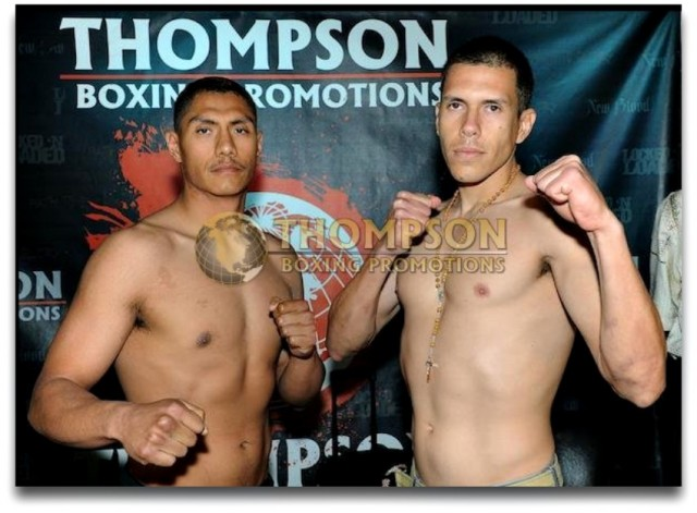 "Rudy ""The Revelation"" Puga (6-0-1 ND, 5 KOs, 166 lbs.) vs. Alejandro Osuna (4-1, 2 KOs, 162.7 lbs) from Jalisco, Mexico."