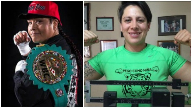 "After their long training camps, the ladies, Martha ""the Sahdow"" Salazar and Alejandra ""La Tigre"" Jimenez were ready to contest the WBC Women's Heavyweight Title on Friday evening, March 18, 2016."