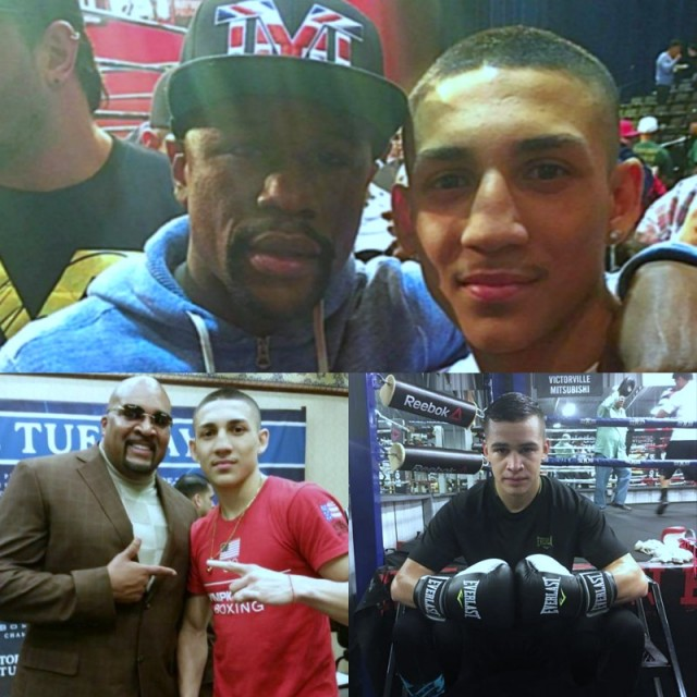 Teofimo Lopez, from Davie, Fla. and Genaro Gamez from San Diego, Calif.