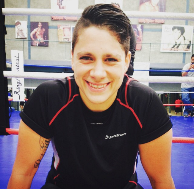 "28 year-old, 5'11"" Alejandra ""Tigre"" Jiménez (5-0, 4 KOs) of Mexico City, Distrito Federal, Mexico."