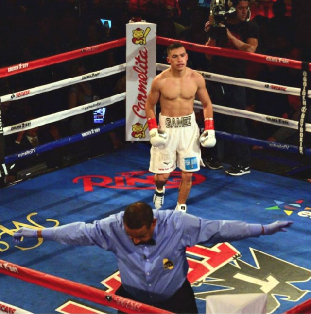 "USA Amateur Boxing sensation Genaro ""El Conde"" Gamez made his Pro-debut a successful one with a first round KO victory of Archie Weah."