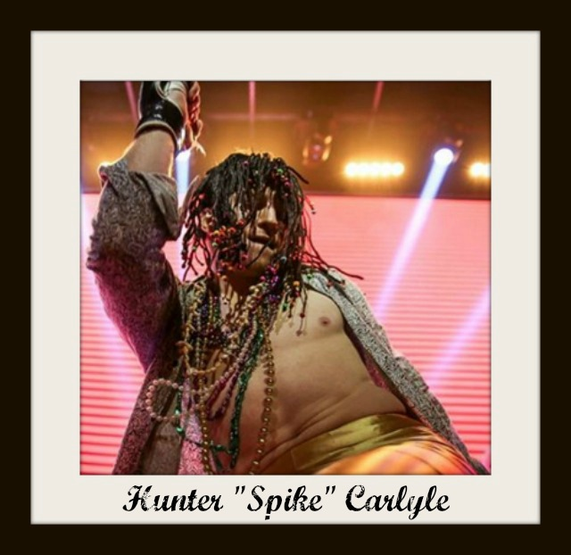 Even Spike Carlyle's walk to the cage was theatrical. It was as if he was in a Marti Gras parade in New Orleans.
